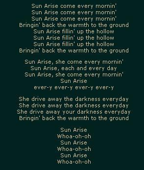 Sun Arise